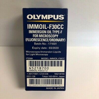 Olympus Japan Microscope Immersion Oil TYPE F 30CC  New-in-Bottle