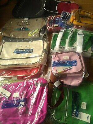 24 JOBLOT NEW BAGBASE QUADRA BAGS BLANKS RESELL PRINT EMBROIDER X 24 No Reserve