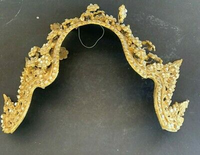 Large Gold Antique Royal Headpeace Collectible