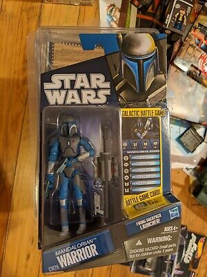 Star Wars The Clone Wars Mandalorian Warrior! CW29!  NEW! Great Condition!
