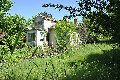House + barn + land hilly area quiet village Bulgaria Holiday Bulgarian property