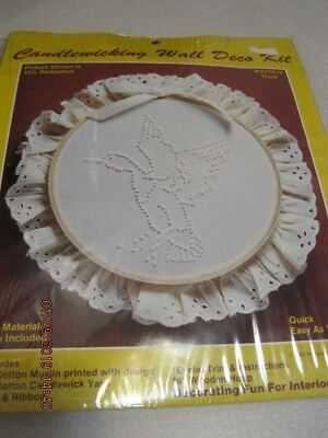 CANDLEWICKING Wall Deco Kit DUCK 1983 Sealed Vintage