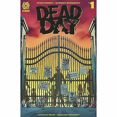 Dead Day #1 Cover A Clarke - Aftershock Comics - Pre-Sale - Available 5/27