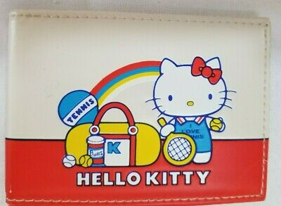 1976 Vintage Sanrio Hello Kitty Wallet *Japan Tennis