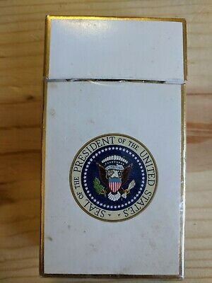 Vintage Presidential Seal Empty Tobacco Cigarette Collector Pack