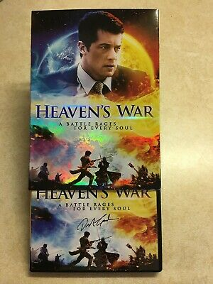 Heaven's War (DVD) (with slip cover) Autographed by Danny Carrales