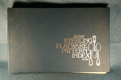 1983 Sterling Flatware Pattern Index Jewelers Circular Keystone 2nd Edition