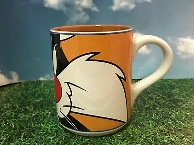SYLVESTER the Cat Warner Bros Looney Tunes Mug 1998 Gibson *RARE