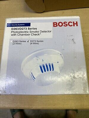 BOSCH D273THC Fire Alarm 4-Wire Smoke/Heat Detector with Relay