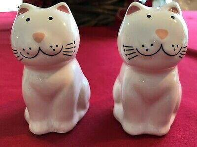 Happy Fat Cat Salt & Pepper White