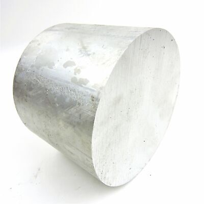 "8.5"" diameter 6061 Solid Aluminum ROUND Bar 5.5"" Long Lathe Stock sku 199094"