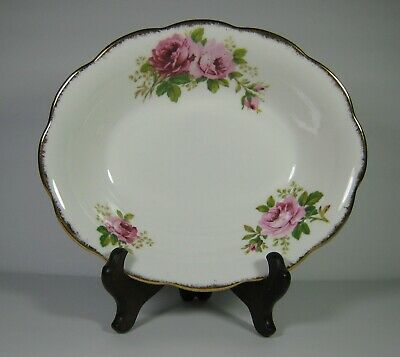 Royal Albert Bone China American Beauty Open Oval Vegetable Serving Bowl