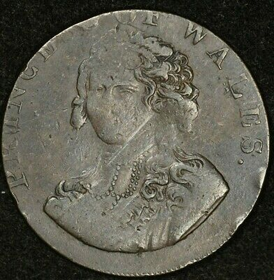 Middlesex Prince Of Wales Anti-Slavery Token D&H-983 #2/2