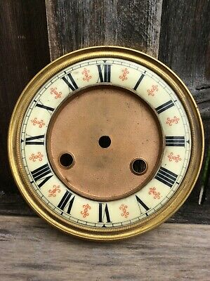 Antique German Spring Driven Vienna Regulator Wall Clock Dial
