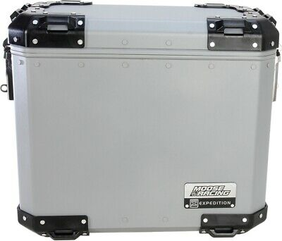 Moose Racing Expedition Aluminum Side Cases 3501-0922 Small Silver