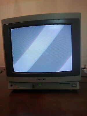 Sony Trinitron PVM-1380 Color CRT Pro Video Monitor Retro Gaming Video Editing