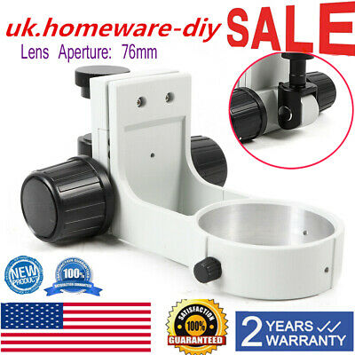 Stereo Microscope Focus Arm Holder 76Mm Dia,E Arm Bracket Holder Ring Adjustment