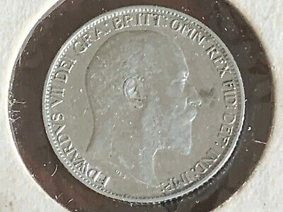 1902 Great Britain 6 Pence (Sixpence) Silver Coin