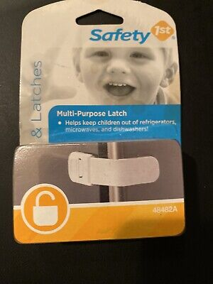 NEW!!! Safety 1st White Multi-Purpose Appliance Latch