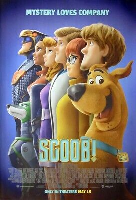 SCOOB! great original 27x40 D/S movie poster (s01)