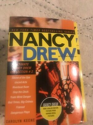 NANCY DREW Girl Detective Boxed Series 8 Books #9-16 Carolyn Keene