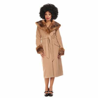 Collectif Vintage Carmella Coat Size 14