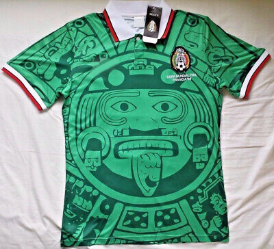 Mexico 1998 World Cup Home Football Retro Jersey Shirt Top Hot Tee High Quality