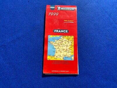 Michelin all of France Map 989  Dated 1999