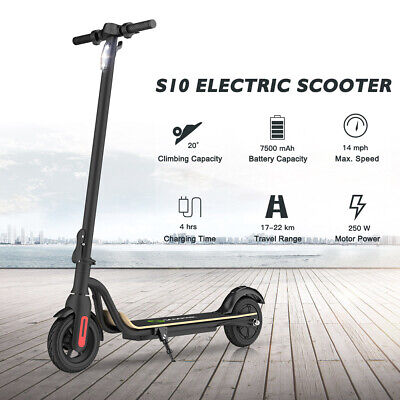 Megawheels S10 Electric Scooters 7.5Ah 250W Adult's Folding Commuter E-Scooter