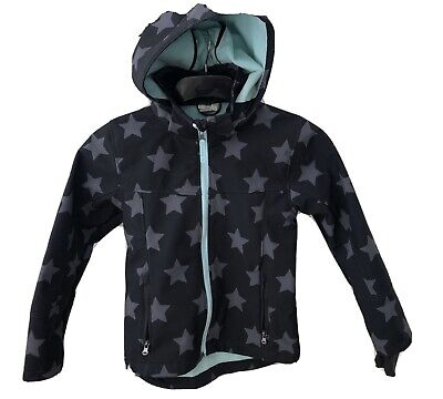 Girls Active Coat Jacket 9-10 Soft Shell Immaculate. H&M Fleece Lined.