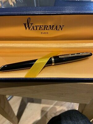 Mint Waterman Carenne Fountain Pen- Boxed