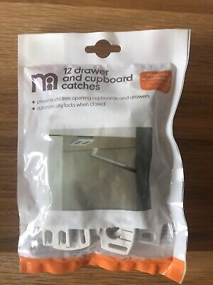 Mothercare Drawer And Cupboard Safety Catches. Child Safety Locks. Unopened