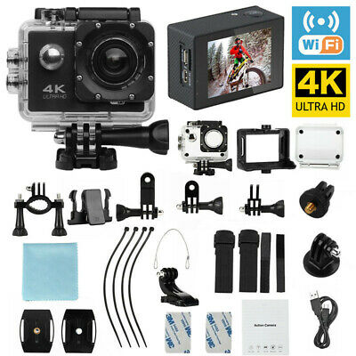 4k Full HD Sports Action Camera Waterproof DVR Camcorder 1080P Wifi As Go Pro