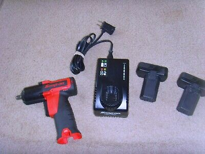 "Snap On 14.4 V 3/8"" Drive MicroLithium Cordless Impact Wrench Set"