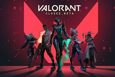 Valorant Key Closed-Access Beta [EU-West] New Riot-Account