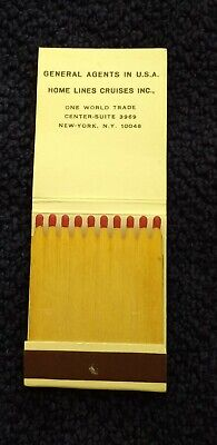 World Trade Center - Twin Towers - 9/11 - WTC - Home Lines Matchbook