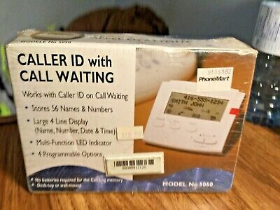 Caller ID - With Call Waiting- Sealed- Model # 5050 - see pics
