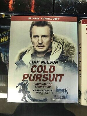 Cold Pursuit BLU-RAY + DIGITAL + SLIPCOVER- Brand New & Sealed- Fast Shipping