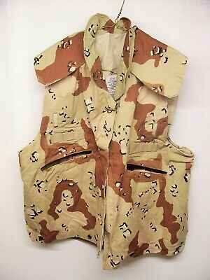 Desert Storm 6 Color Chocolate Chip Desert Camo Small / Med Cover, Pasgt. Vest