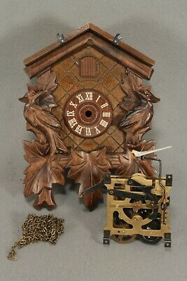 Incomplete Wall Cuckoo Clock For Repair