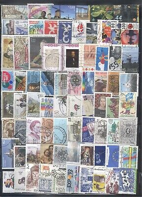 WESTERN EUROPE - Nice Collection of  75 Commemorative Stamps........