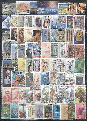 WORLD WIDE - Nice Collection of  75 Commemorative Stamps........
