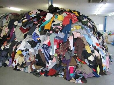 Wholesale Joblot Used Second Hand Clothes Shoes 12.5Kg Sack. See Listing Details