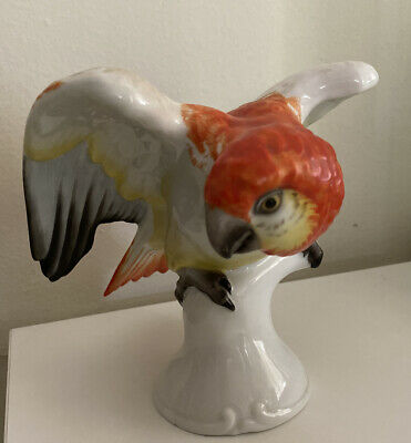 Rosenthal Parrot SIGNED Excellent Condition