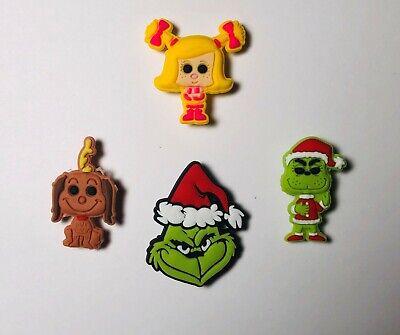 The Grinch Shoe Charms for your Crocs/Jibbitz