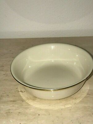 LENOX China ETERNAL Salad / Soup Bowl Perfect Used Condition