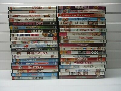 Wholesale Lot Of 40 Assorted ***Comedy*** DVDs & DVDs Movies