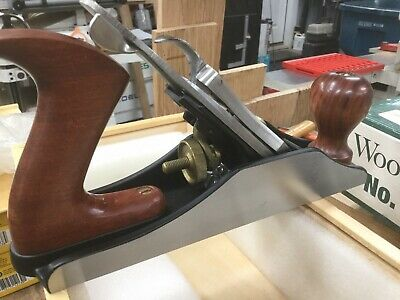 Wood River #3 Hand Plane Version II with Original Packaging and Wood Display Box
