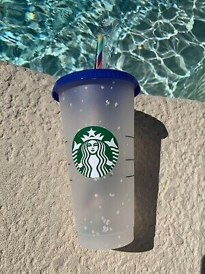 Starbucks Confetti Color Changing Cup Rainbow Straw Pride Summer 2020🌈Ships Now