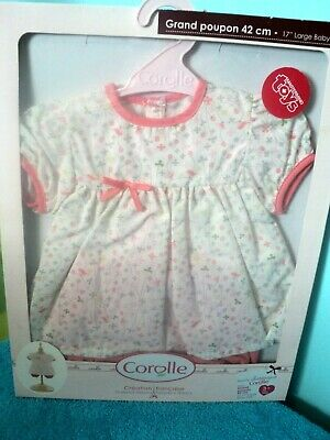 """Corolle doll dress 17"""" Brand New in Box"""